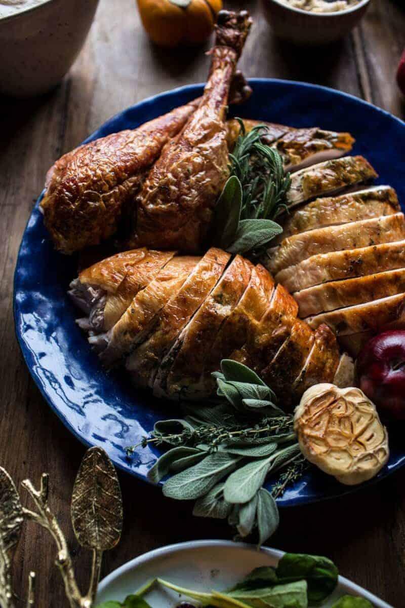 pics Herb-Roasted Turkey with Pan Gravy
