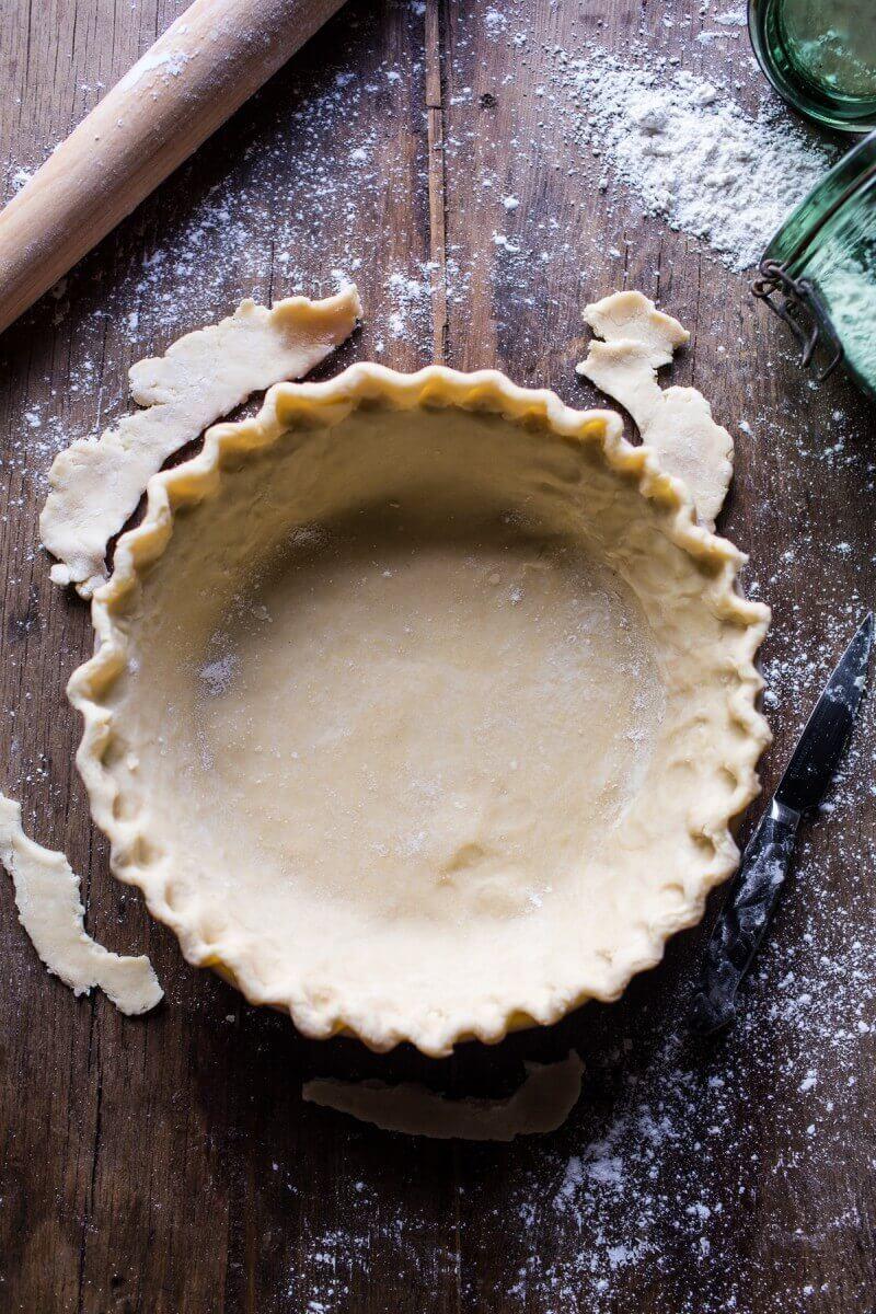 Salted Bourbon Pecan Pumpkin Pie | halfbakedharvest.com @hbharvest