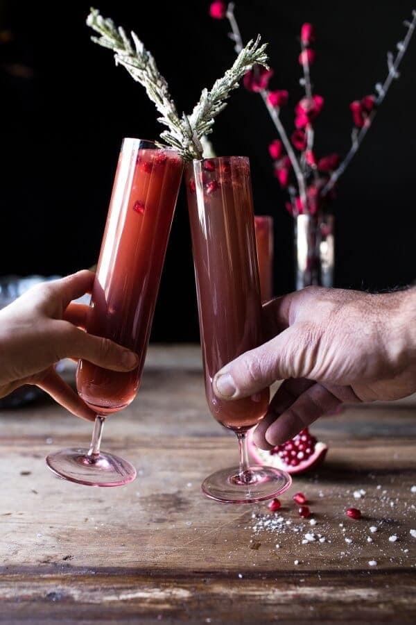 Sparkling Pomegranate Punch | halfbakedharvest.com @hbharvest
