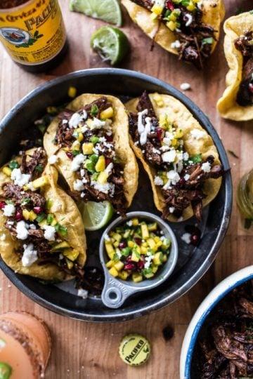 Birria Puffy Tacos.