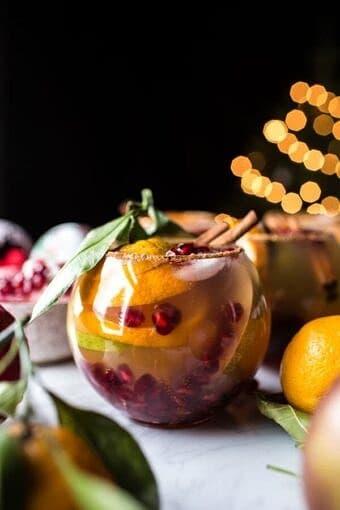 Christmas Sangria | halfbakedharvest.com @hbharvest