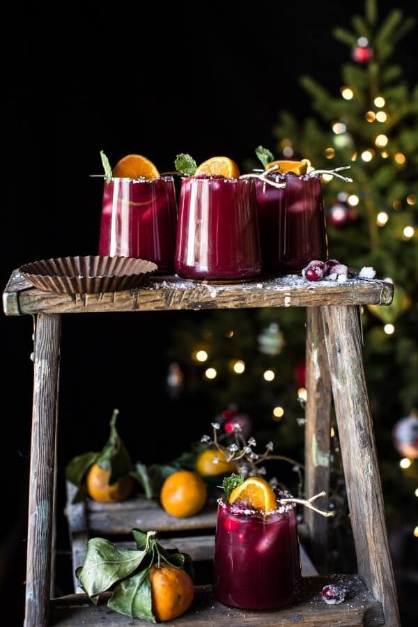 Cranberry Orange Margaritas (VIDEO) | halfbakedharvest.com @hbharvest
