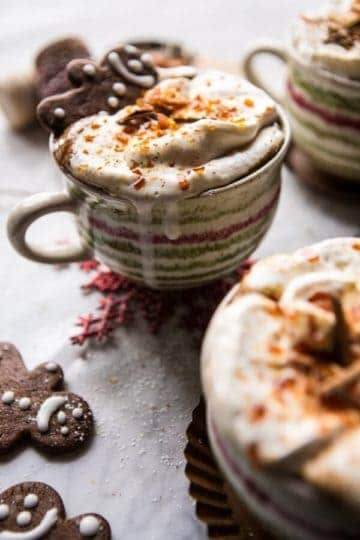 Gingerbread Latte with Salted Caramel Sugar (VIDEO).