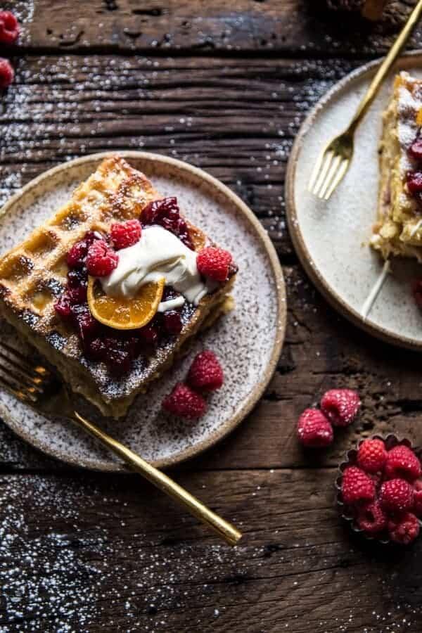Monte Cristo Waffle Strata | halfbakedharvest.com @hbharvest