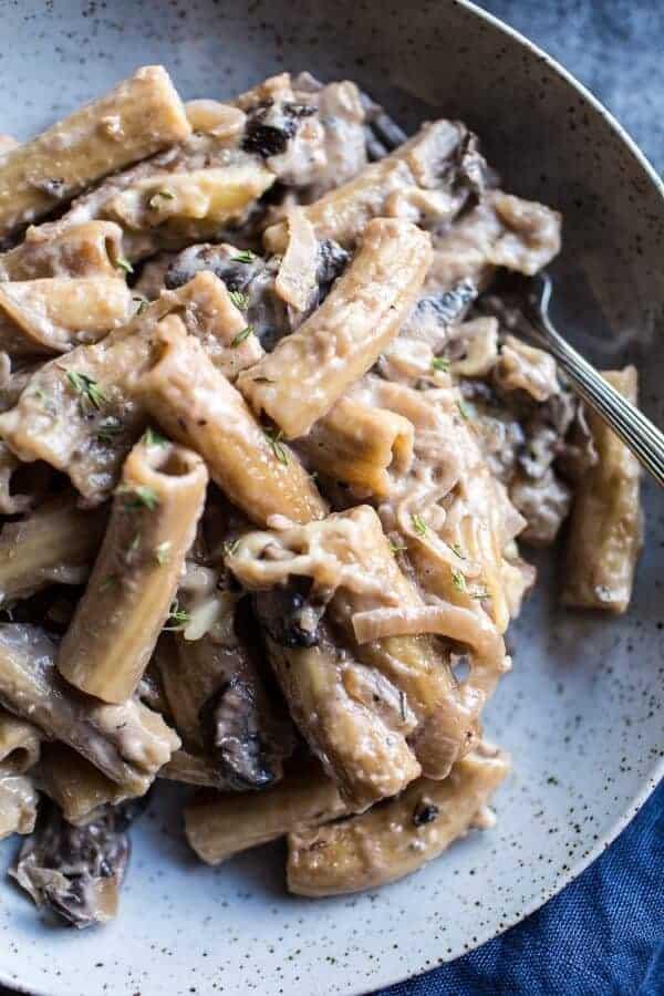 One-Pot Creamy French Onion Pasta Bake | halfbakedharvest.com @hbharvest