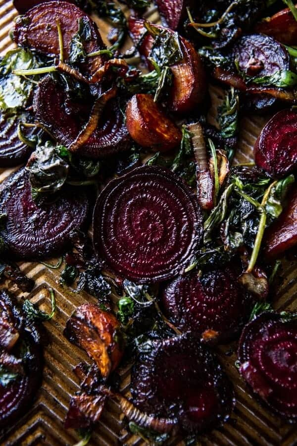 Roasted Beet, Baby Kale and Brie Quiche | halfbakedharvest.com @hbharvest
