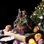 Sage Crusted Standing Rib Roast with Gorgonzola Cream Sauce (VIDEO) | halfbakedharvest.com @hbharvest