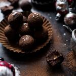 Salted Peanut Butter Caramel Chocolate Truffles | halfbakedharvest.com @hbharvest