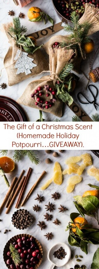 The Gift of a Christmas Scent (Homemade Holiday Potpourri…GIVEAWAY) | halfbakedharvest.com @hbharvest