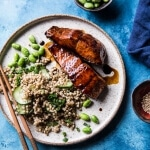Caramelized Teriyaki Salmon with Sesame Toasted Buckwheat | halfbakedharvest.com @hbharvest