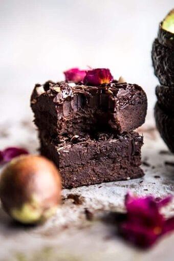 Fudgy Avocado Brownies with Chocolate Fudge Frosting | halfbakedharvest.com @hbharvest