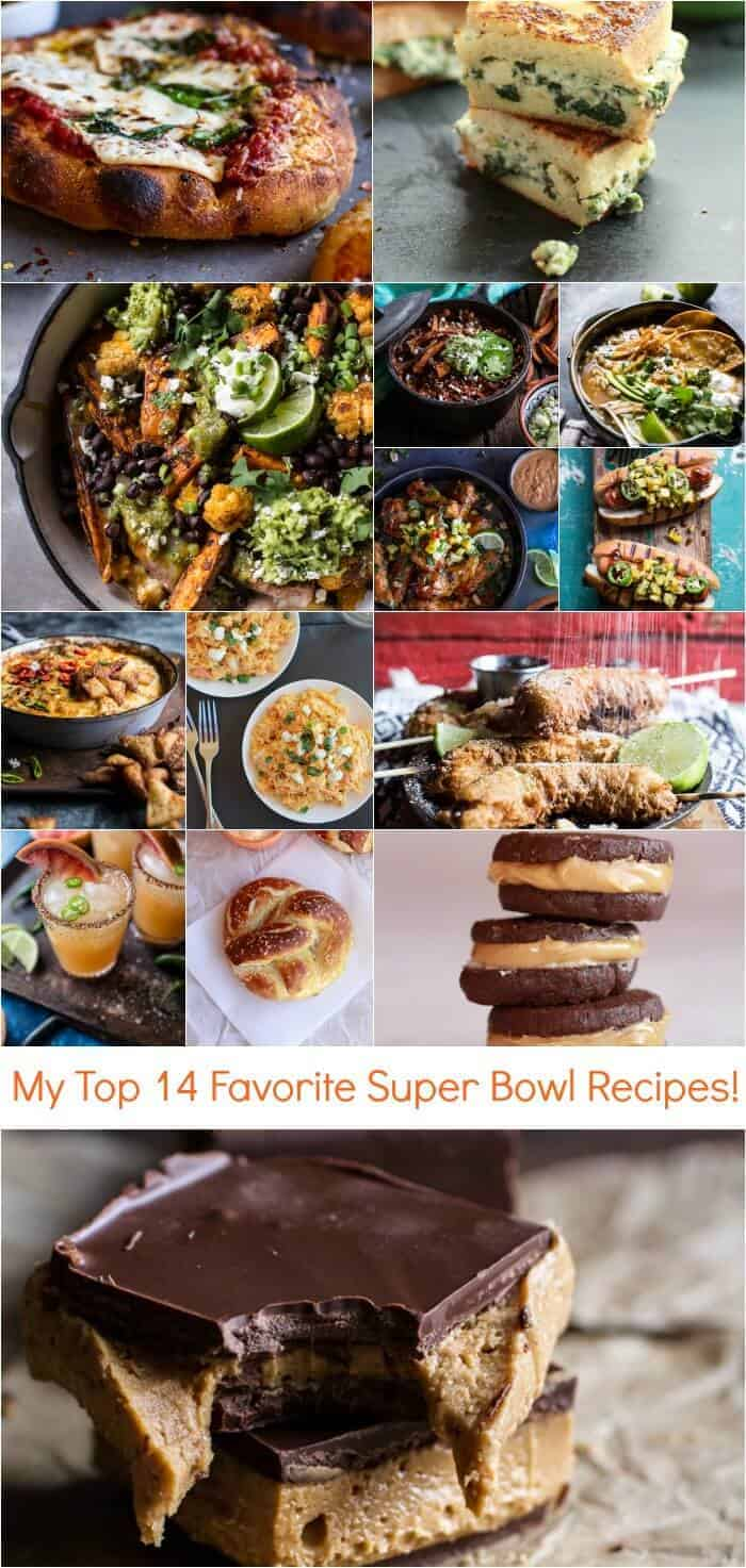 My Top 14 Favorite Super Bowl Recipes | halfbakedharvest.com @hbharvest