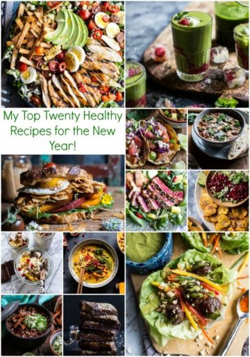My Top Twenty Healthy Recipes for the New Year!