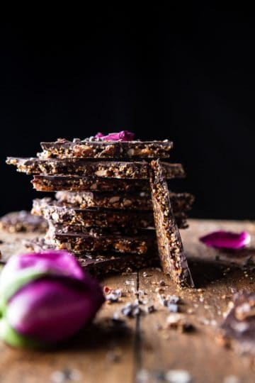 Superfood Chocolate Quinoa Bark.