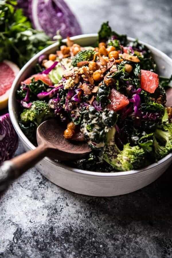 The Mean Green Detox Salad | halfbakedharvest.com @hbharvest