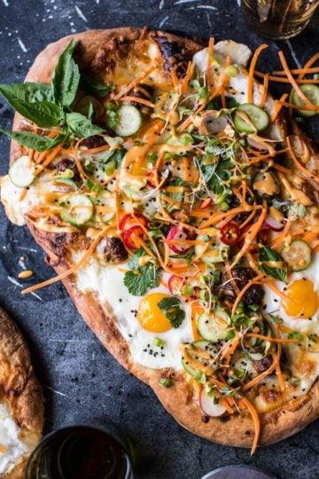 Banh Mi Pizza.