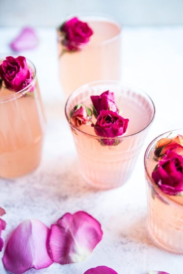 Rose Lemon Spriter: A Week of (Healthy) Cozy Winter Recipes | halfbakedharvest.com @hbharvest