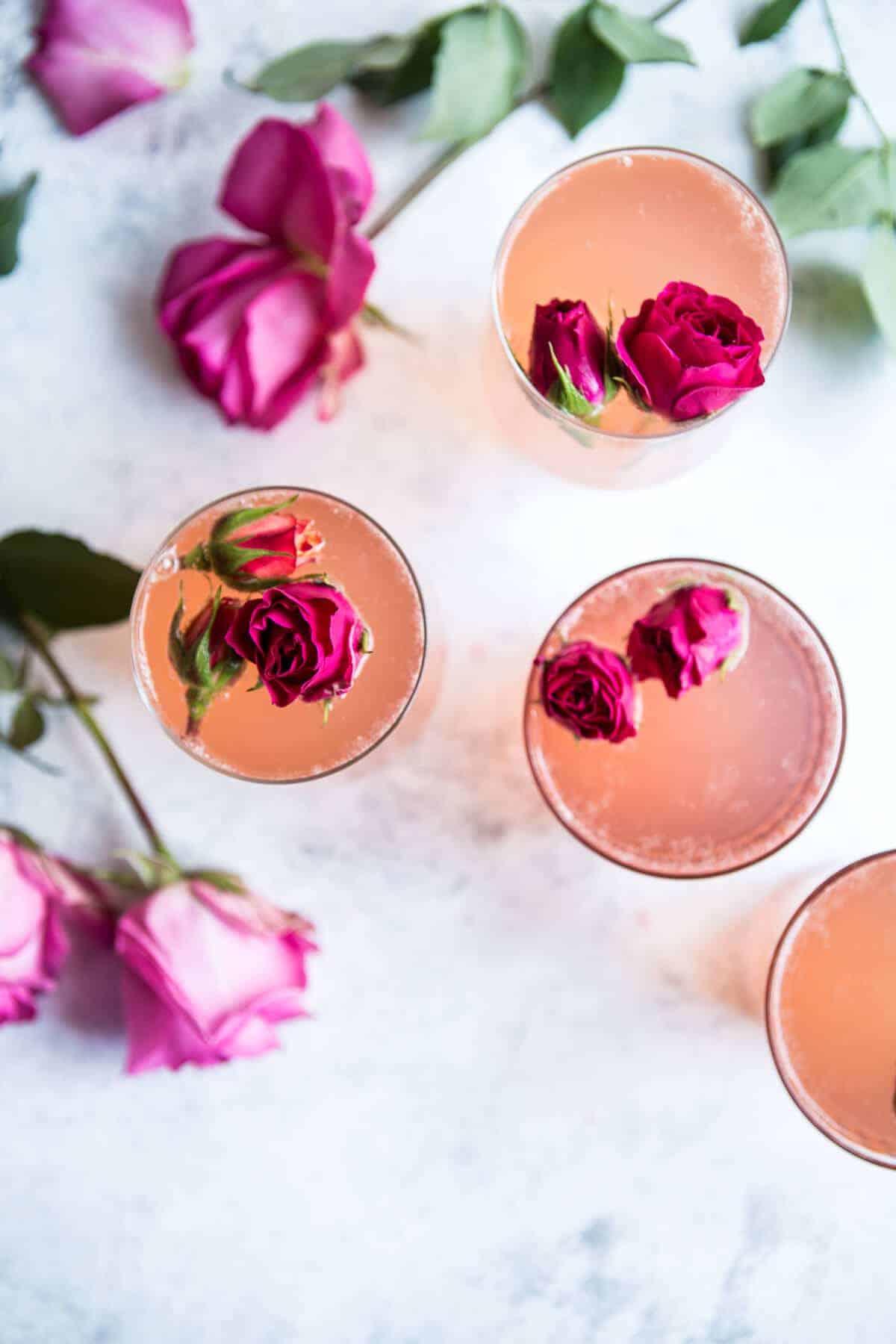 Rose Lemon Spritzer | halfbakedharvest.com @hbharvest