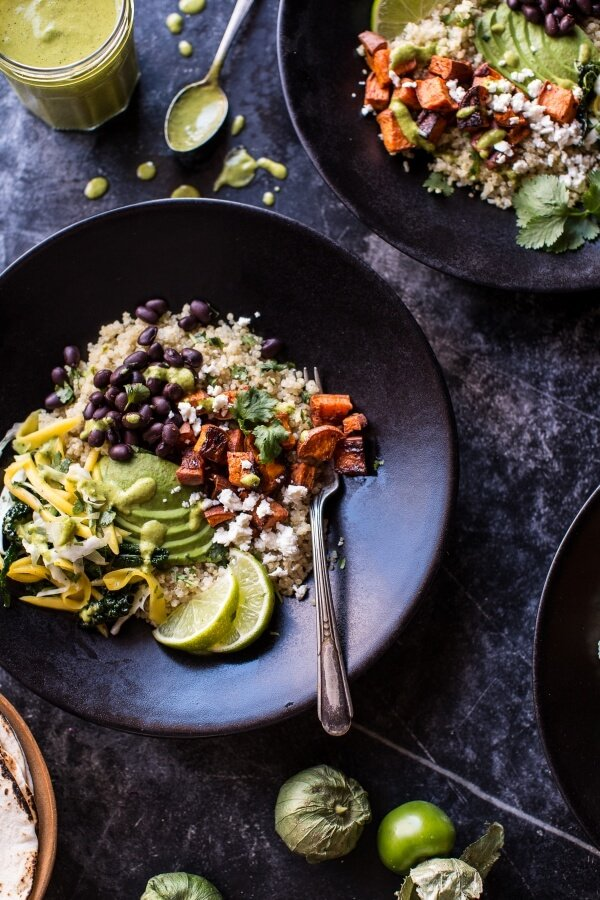 Spicy Southwest Quinoa Bowl.