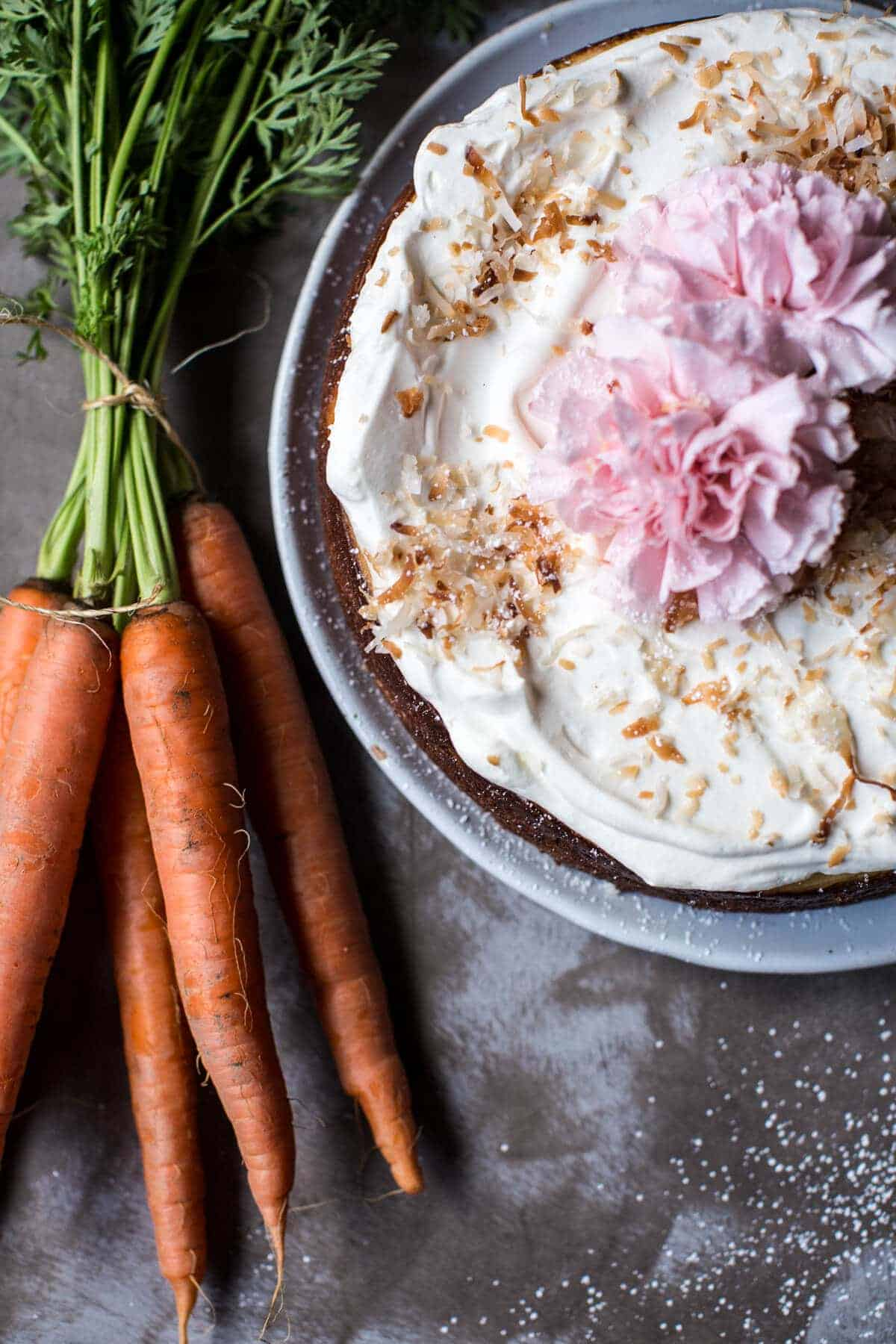 Coconut Carrot Cake Cheesecake