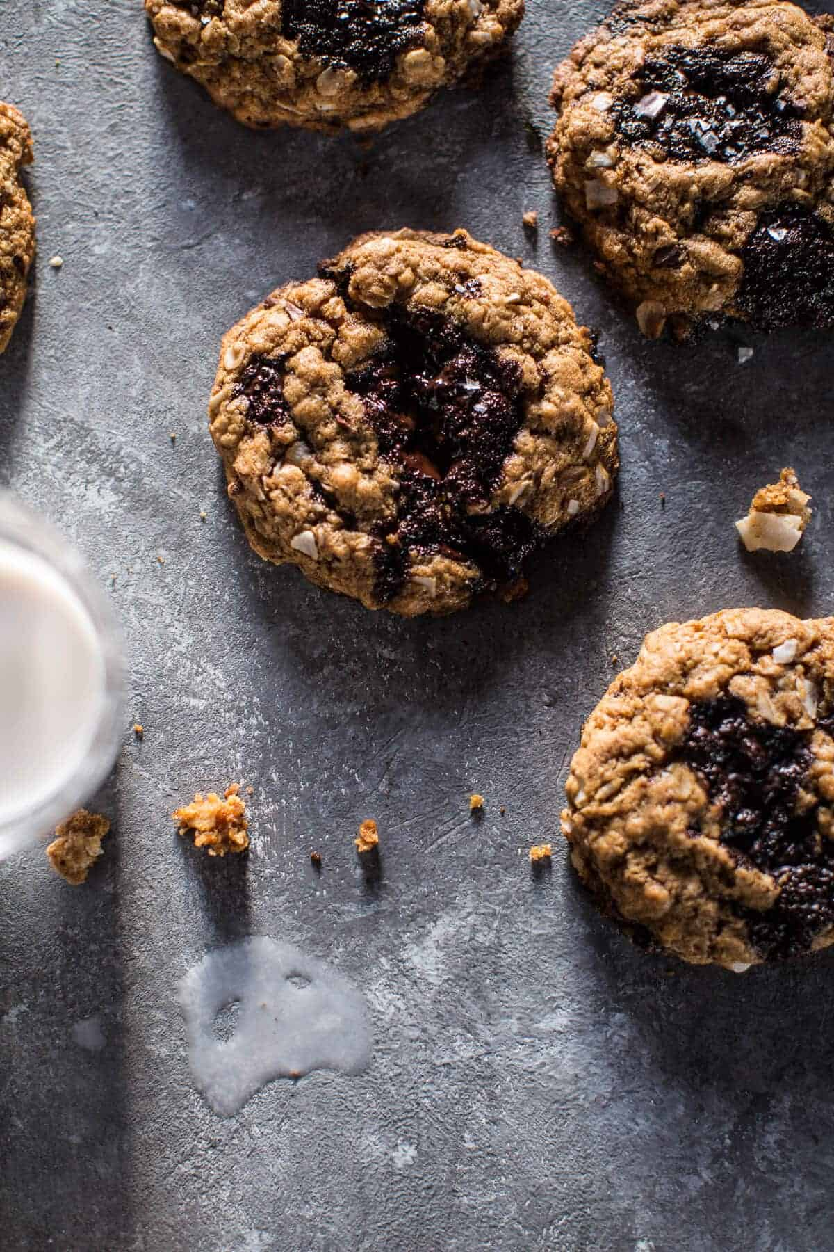 Coconut Chocolate Chunk Cookies (VIDEO).