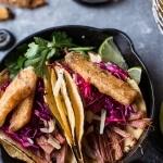 Corned Beef Tacos with Beer Battered Fries | halfbakedharvest.com @hbharvest