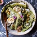 Green Banana Crepes with Whipped Greek Yogurt | halfbakedharvest.com @hbharvest