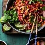 Rainbow Veggie Noodles.