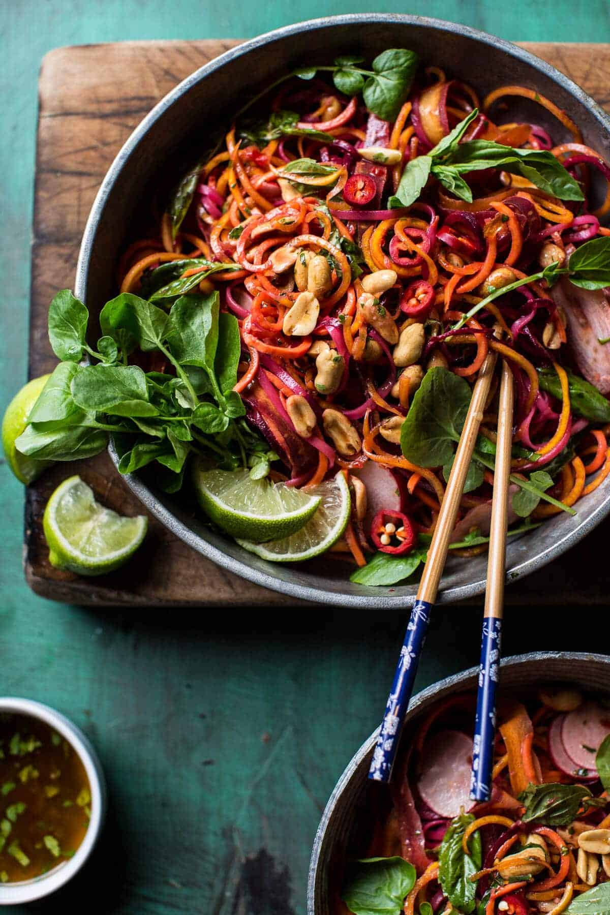Rainbow Veggie Noodles | halfbakedharvest.com @hbharvest