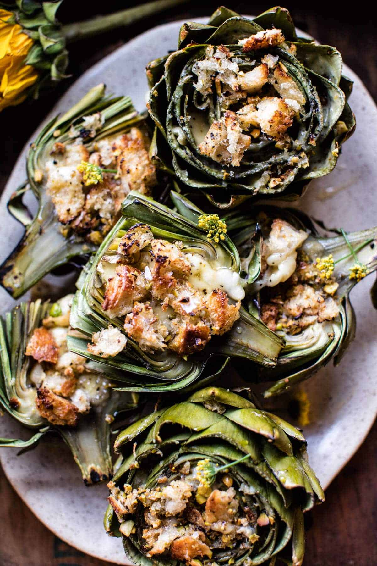 Artichoke With Baked Brie Sauce Recipes — Dishmaps