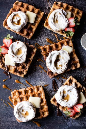 Churro Waffles + Video