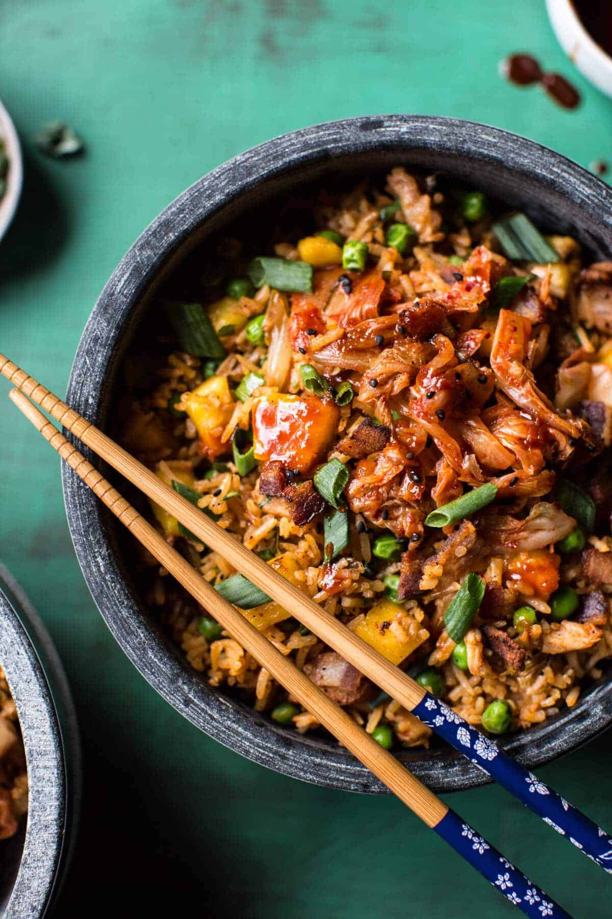 , so not ALL of the good things, but a lot of them. This fried rice ...