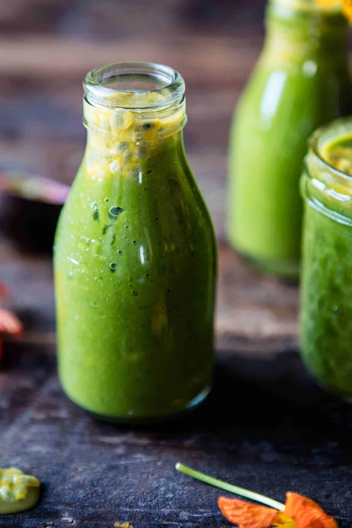 Mango Spinach Smoothie | halfbakedharvest.com @hbharvest