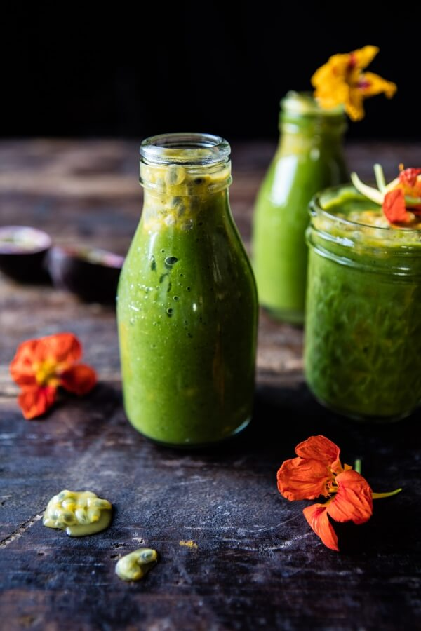 Mango Spinach Smoothie.