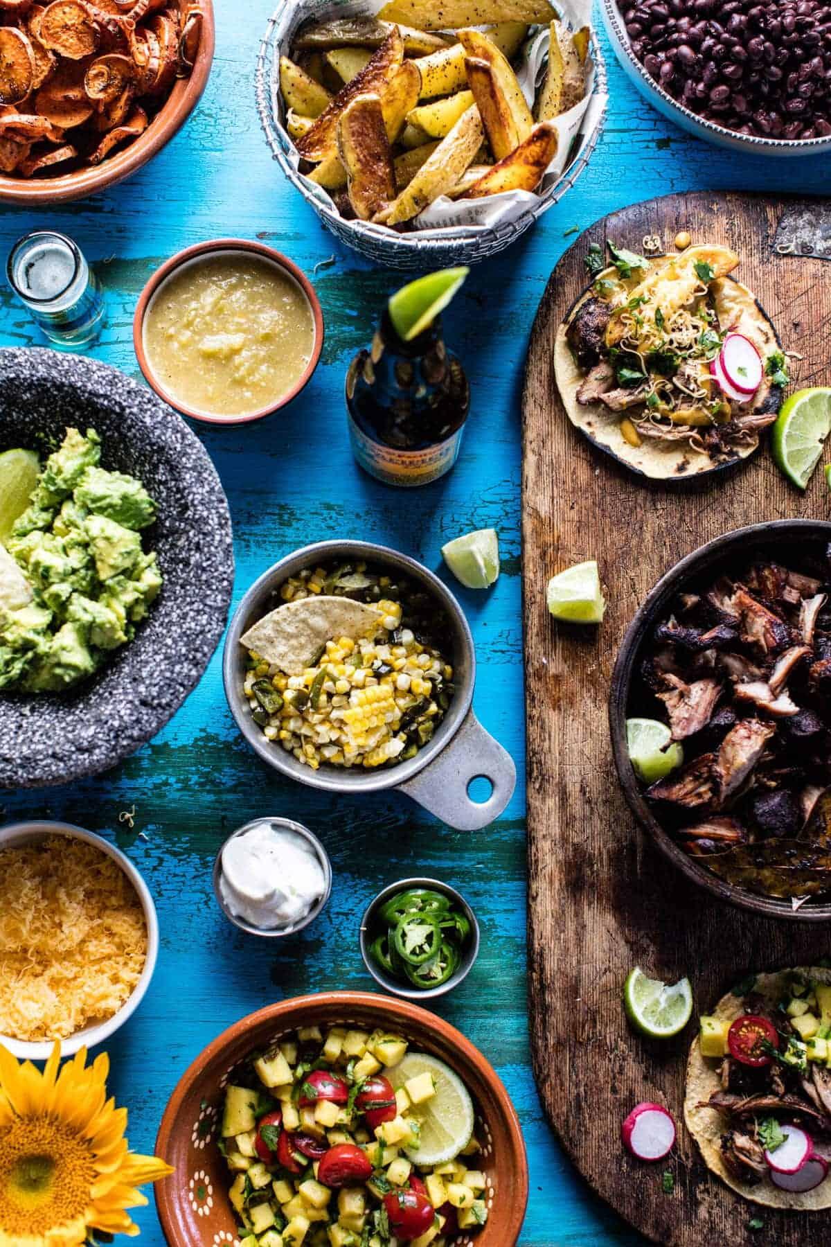 Mexican Carnitas Bar | halfbakedharvest.com @hbharvest