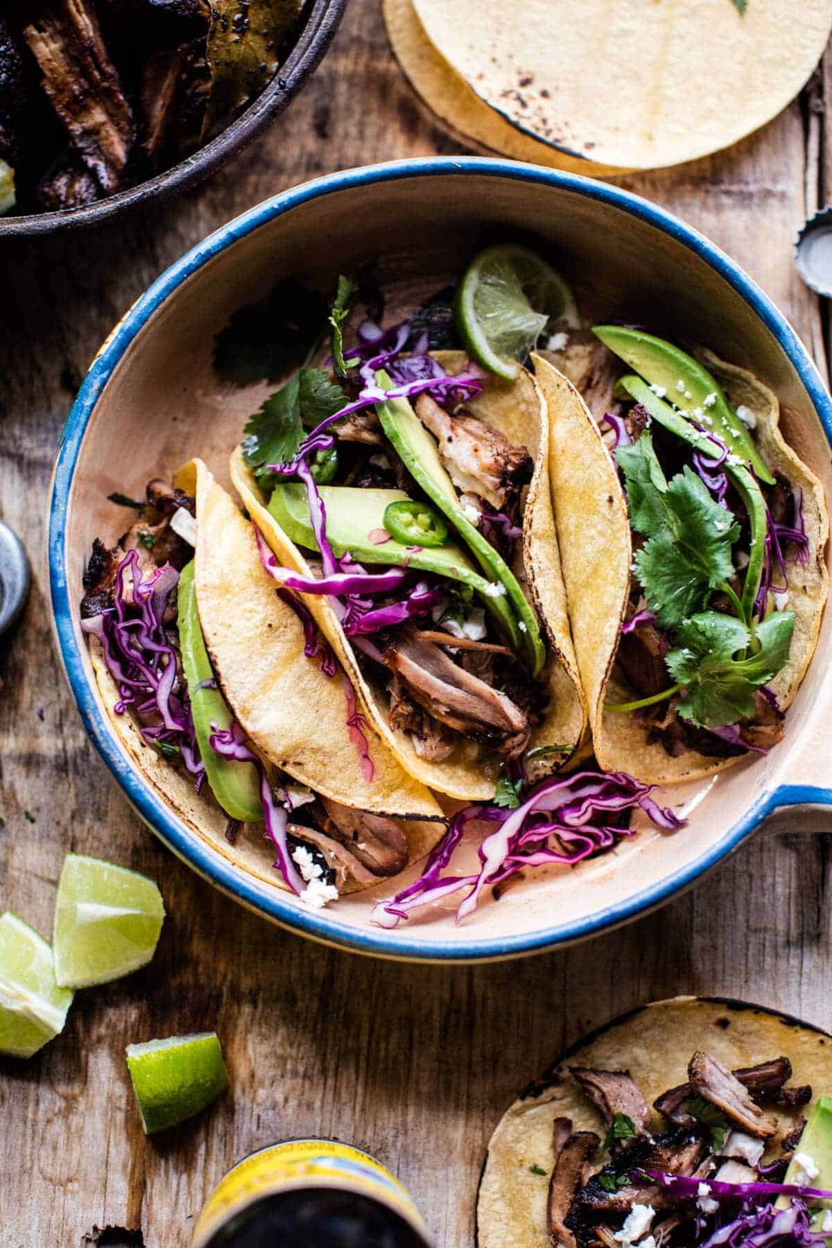 My Favorite Slow Roasted Pork Carnitas | halfbakedharvest.com @hbharvest