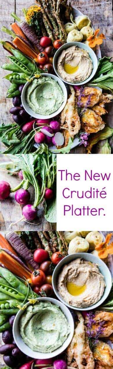 The New Crudité Platter | halfbakedharvest.com @hbharvest
