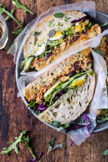 Tuscan Tuna Sandwich.
