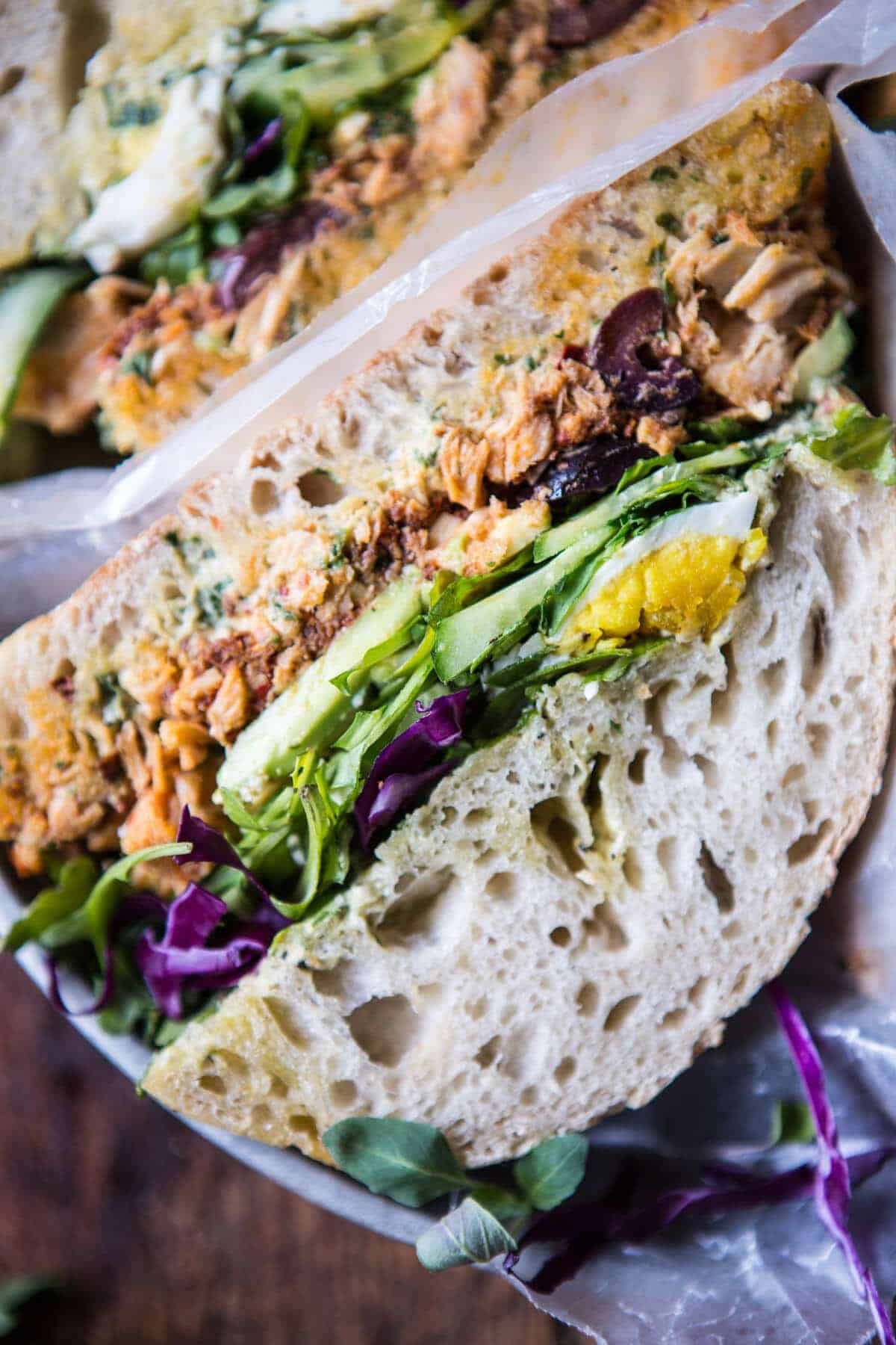 Tuscan Tuna Sandwich | halfbakedharvest.com @hbharvest