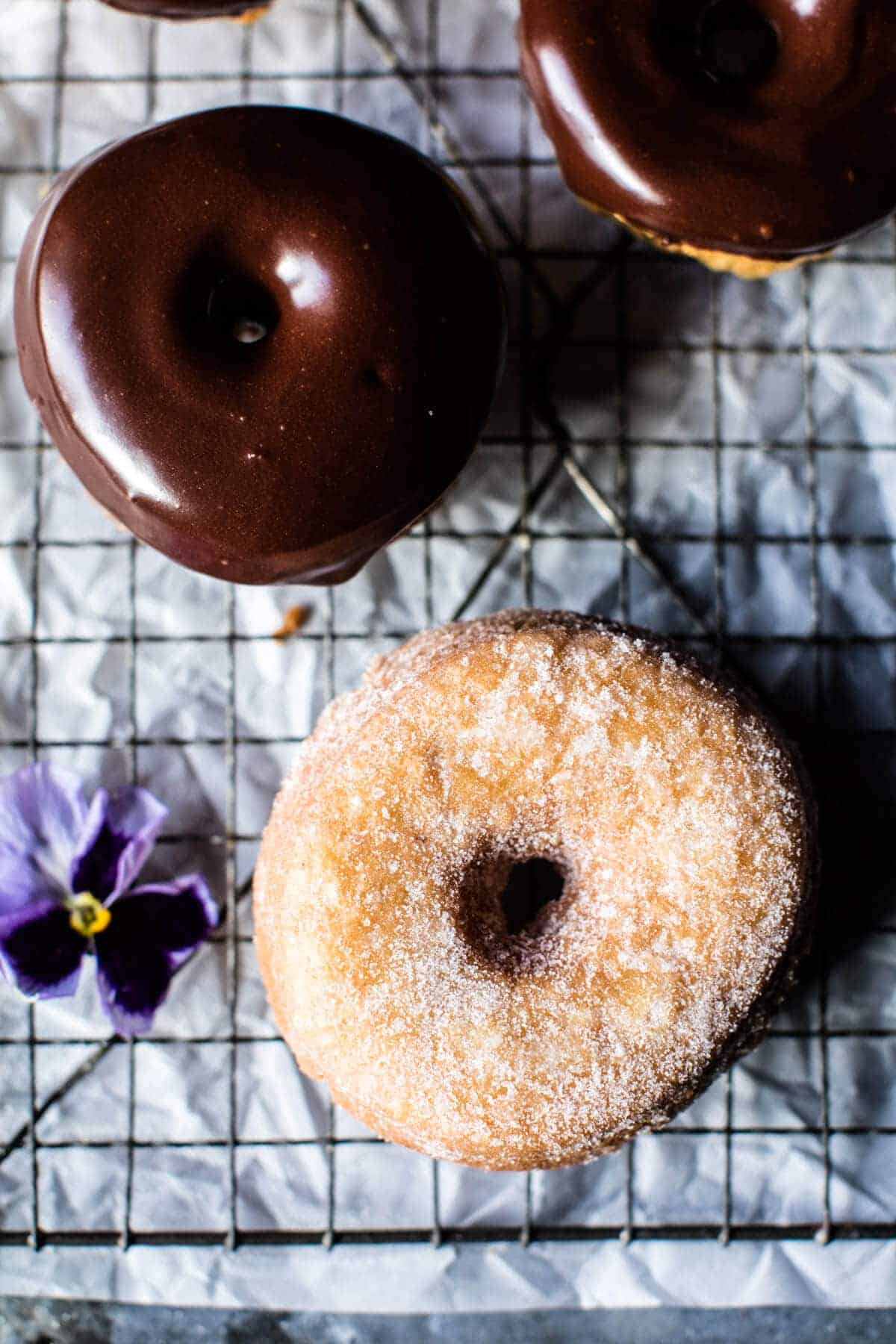 Chocolate Glazed Mochi Doughnuts | halfbakedharvest.com @hbharvest