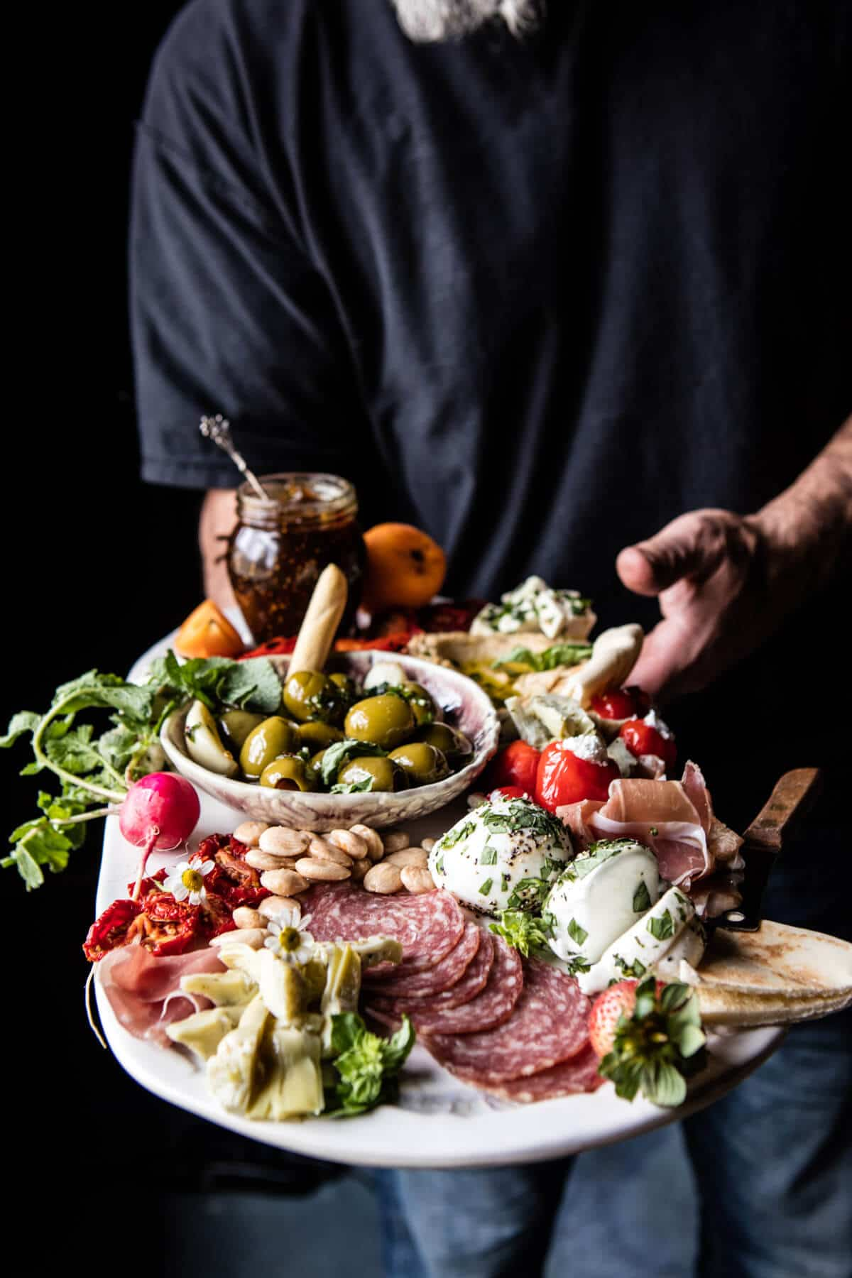 Greek Inspired Antipasto Platter   halfbakedharvest.com @hbharvest