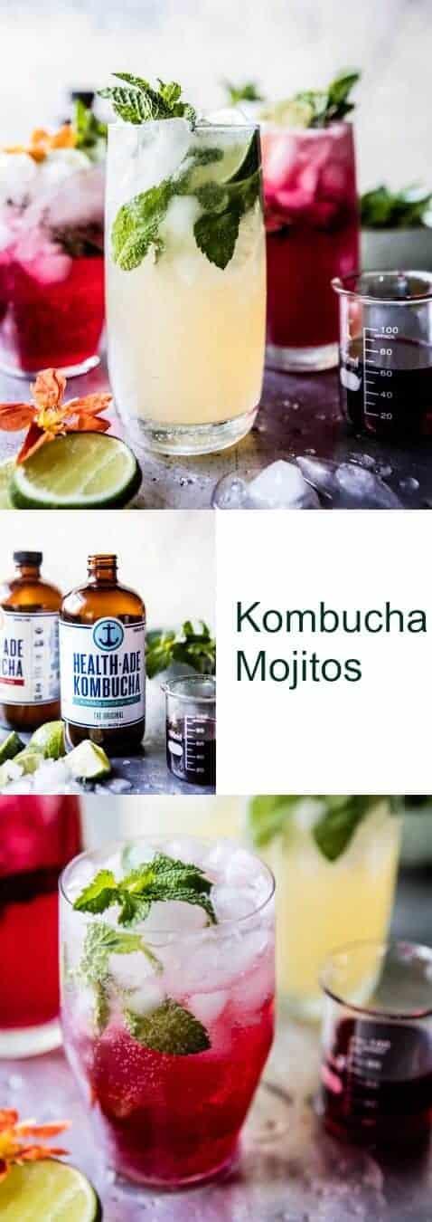 Kombucha Mojitos | halfbakedharvest.com @hbharvest