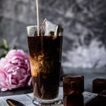 My Perfect Vanilla Bean Iced Coffee | halfbakedharvest.com @ hbharvest