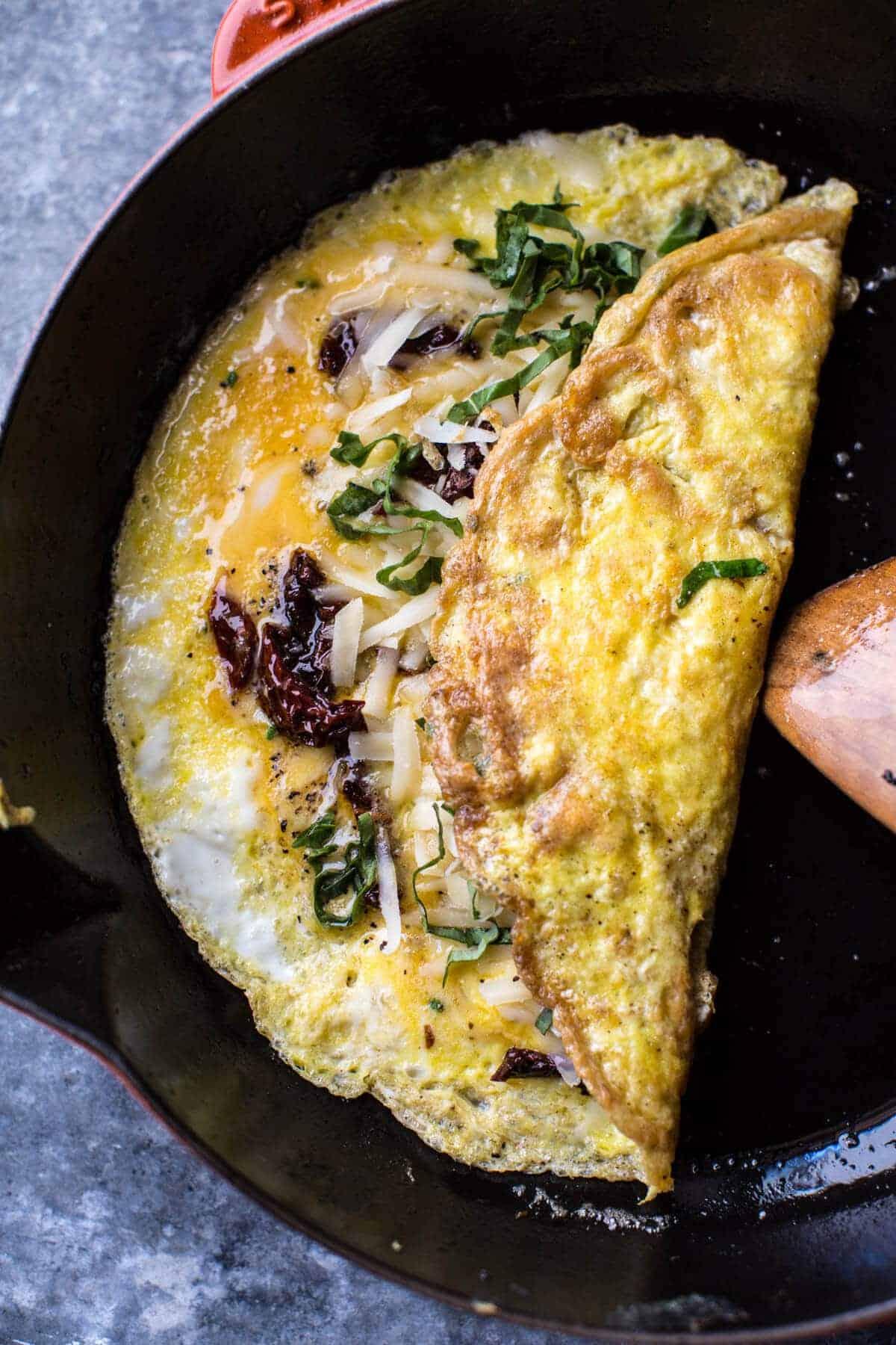 Simple California Style Omelet | halfbakedharvest.com @hbharvest