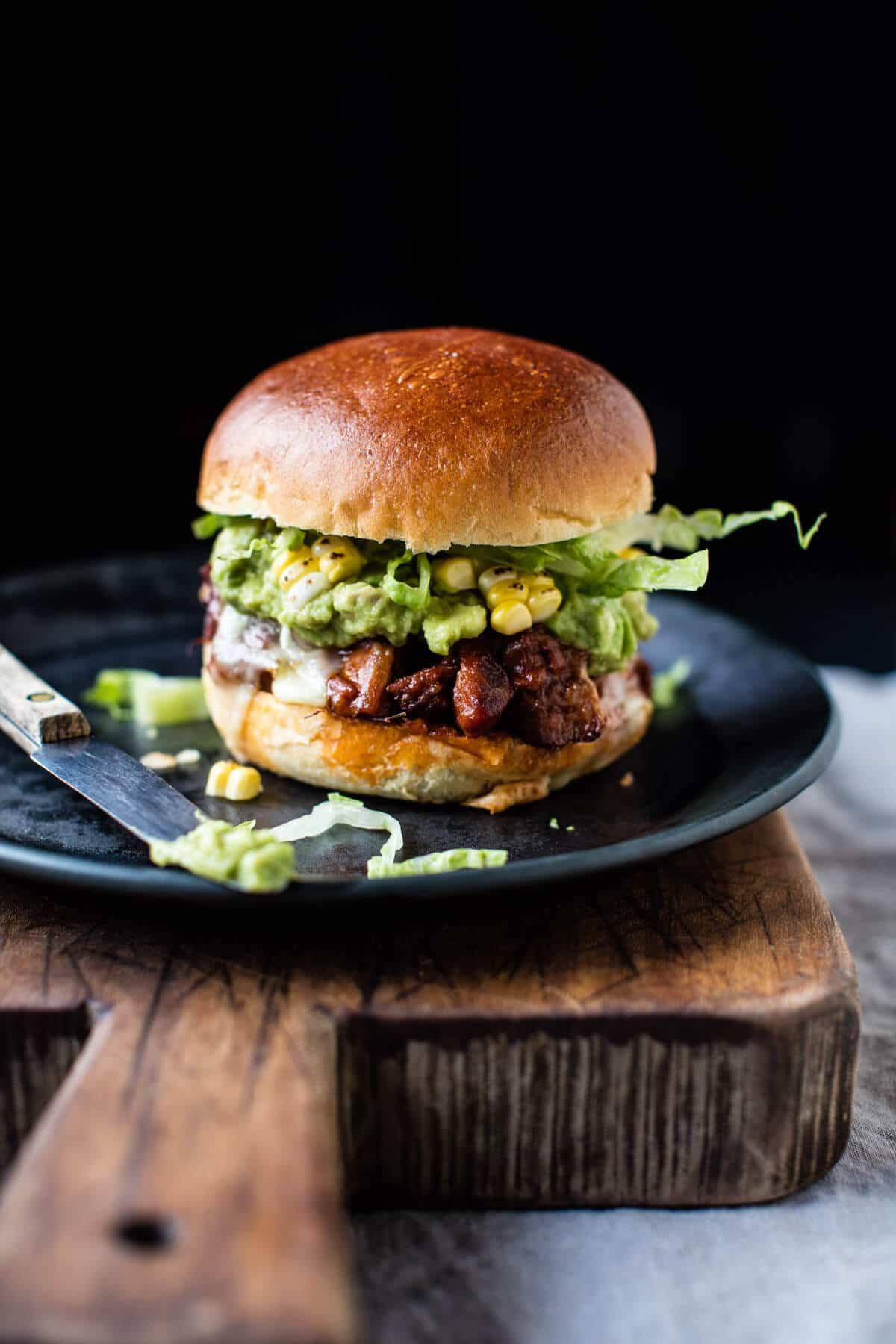 Southwest BBQ Pork Sliders | halfbakedharvest.com @hbharvest