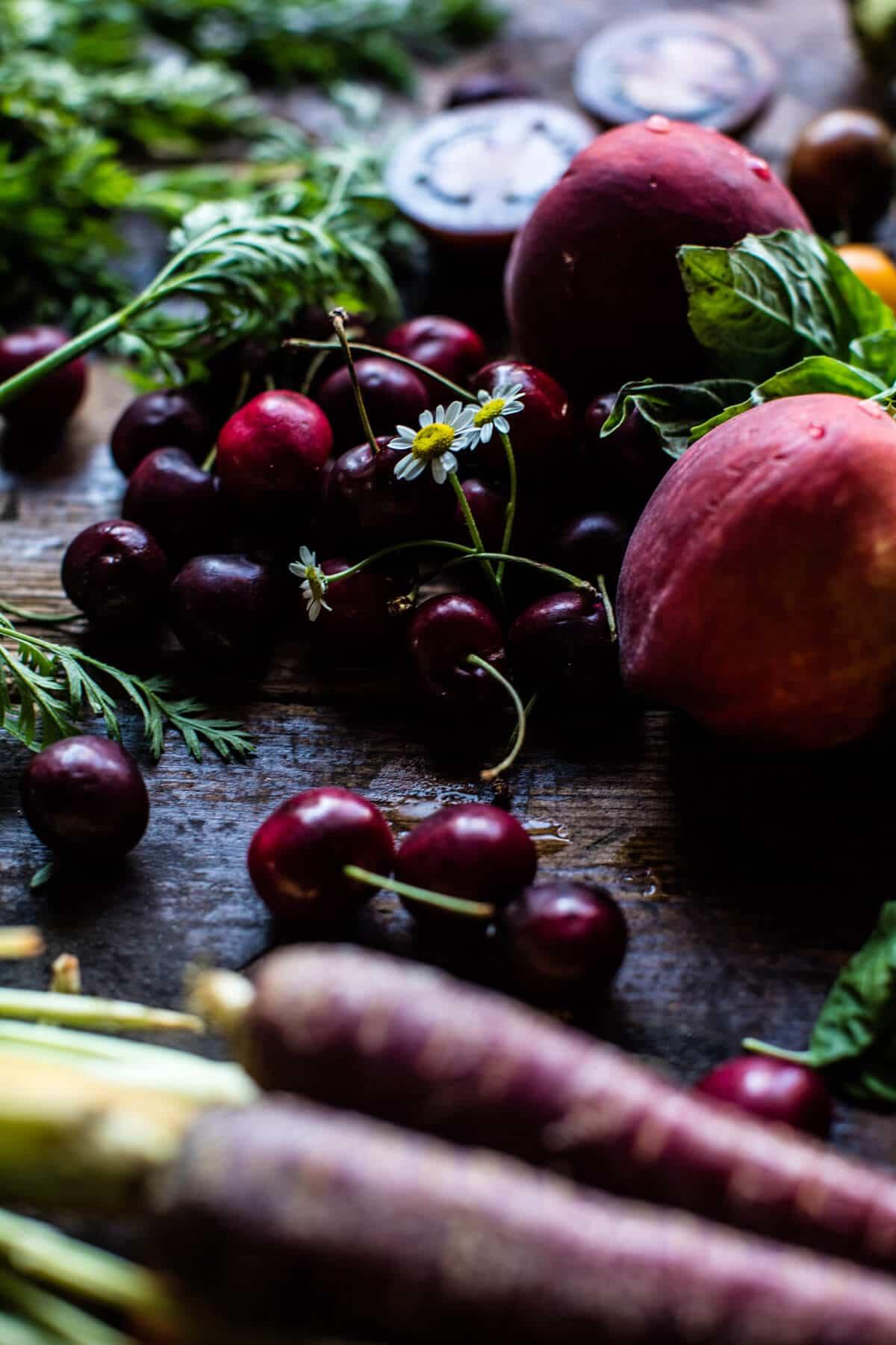 Farmers Market Hummus | halfbakedharvest.com @hbharvest