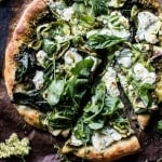Garden Greens Goddess Pizza + Video