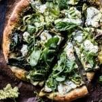 Garden Greens Goddess Pizza + Video
