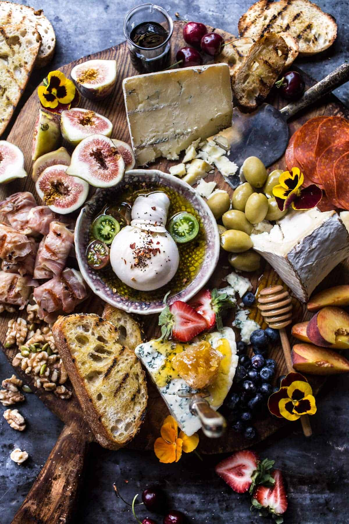 Simple Summer Cheese Board | halfbakedharvest.com @hbharvest