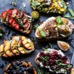 Summer Crostini 6 Ways.